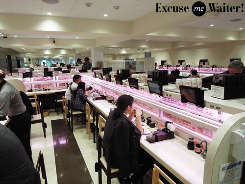 Genki Sushi Shibuya Tokyo Excuse Me Waiter A Food Blog